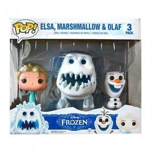 Funko Disney Frozen POP! Elsa, Marshmallow & Olaf